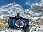 Winnipeg shout-out from Mount Everest