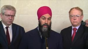 Jagmeet Singh calls Gerald Butts' testimony on SNC-Lavalin 'incredible'