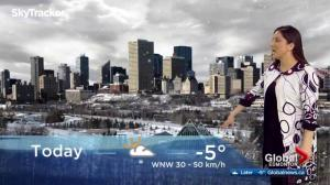 Edmonton early morning weather forecast: Friday, February 16, 2018