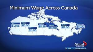 Alberta's new $15 minimum wage the highest in Canada