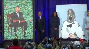 Barack & Michelle Obama official portraits unveiled