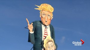 Donald Trump, Hillary Clinton effigy to be burned in England
