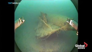 Wreck believed to be WW2 German U-boat found off Turkish coast