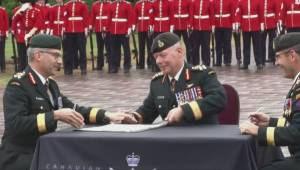 Canadian military's second in command abruptly quits