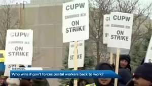 Should the government intervene in the Canada Post Strike?