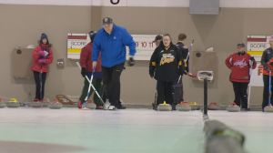 Special Olympic curlers use Regina bonspiel as tune-up for provincials