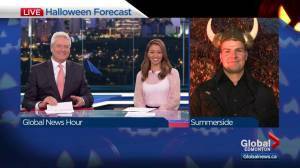 Edmonton Halloween weather forecast: Oct. 31