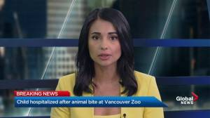 Child hospitalized after animal bite at Greater Vancouver Zoo