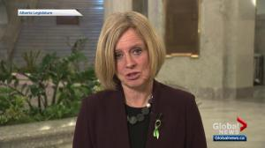 Premier Notley speaks to Global Edmonton about latest Trans Mountain pipeline development