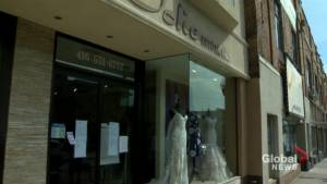 Toronto bridal boutique shuts down without notice, leaving brides to scramble for solutions