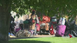 Vernon homeless campers on the move