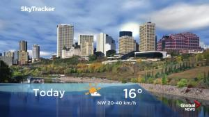 Edmonton early morning weather forecast: Tuesday, September 25, 2018