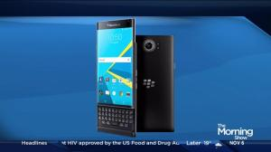 Taking a look at BlackBerry's latest device 'Priv' as it launches