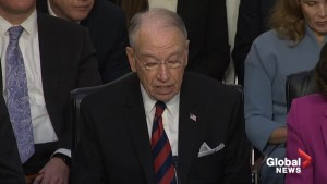 Grassley denies Democrats' calls to delay hearing of SCOTUS nominee Brett Kavanaugh
