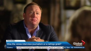 Was the Alex Jones interview legitimate journalism or just a ratings grab?