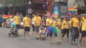 Hundreds turn out for River of Pride parade in Moncton