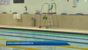 Edward Carriere holds benefit for Ready, Set, Swim on Nov. 11 (03:19)