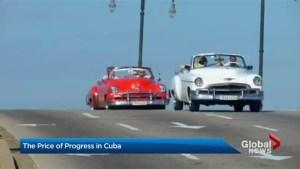 The price of progress in Cuba