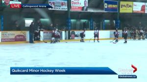 Quikcard Edmonton Minor Hockey Week reaching the halfway point