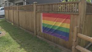 Neighbours support display of pride