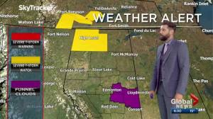 Edmonton Weather Forecast: June 25