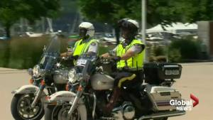RCMP motorcycle training program in Kelowna