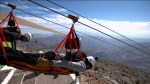 A look at the world's longest zipline that propels you at 150 km/h