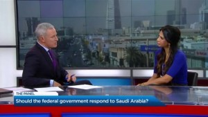 Should the federal government respond to Saudi Arabia?