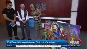 Celebrating Canada's history through art
