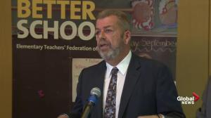 ETFO message to Premier Ford: Take the 'snitch' line down