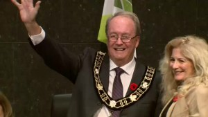 Surrey's new mayor gets down to business