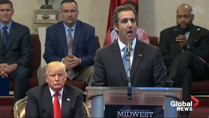 Michael Cohen pleads guilty for lying about Trump real ...