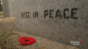 No Stone Left Alone honours, educates and remembers veterans in Calgary ceremony