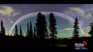 Talking about a light phenomenon over Alberta skies