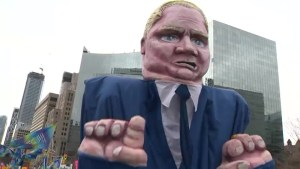 Ford government protests draw comparisons to those of the Harris government