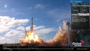 Elon Musk captivates the world with his Falcon Heavy launch