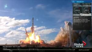 Elon Musk captivates the world with his Falcon Heavy launch