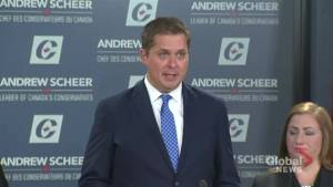 To get Trans Mountain built Andrew Scheer says he would invoke constitutional powers, ban foreign funds
