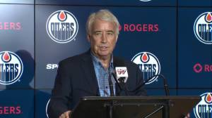 'He was disappointed,' Nicholson says of Oilers GM Peter Chiarelli being let go