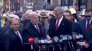 Authorities provide preliminary details of New York explosion