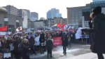 Second annual women's march held in Montreal