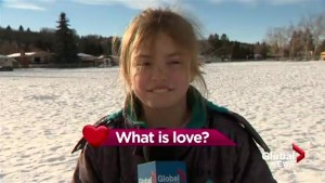 What is love? Calgary kids weigh in for Valentine's Day