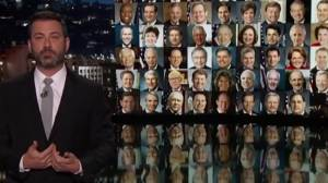 Late-night hosts urge action on gun control in America