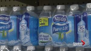 Battle brewing with Nestle over bottled water in Ontario