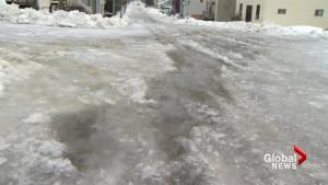 Saint John covered in ice after latest blast of winter