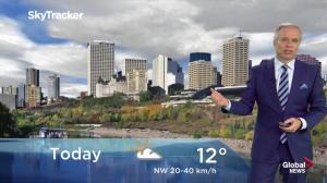 Edmonton morning weather forecast: Wednesday, September 26, 2018