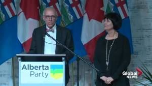 Alberta Election 2019: Alberta Party Leader Stephen Mandel 'very proud' of party's efforts (05:37)