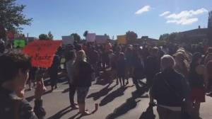 Rallies outside Sask. courthouse cry 'Justice for Colten!'