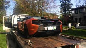 McLaren issued $368 ticket for speeding near playground