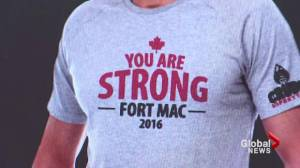 New Brunswick man sells shirts for Fort McMurray